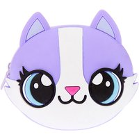 Claire's Carly The Cat Jelly Coin Purse - Purple - Purse Gifts