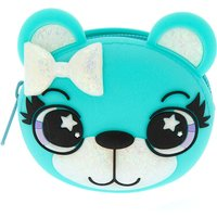 Claire's Brooke The Mint Bear Jelly Coin Purse - Purse Gifts