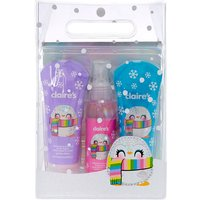 Claire's Peppie The Penguin Strawberry Scented Bath Set - Strawberry Gifts