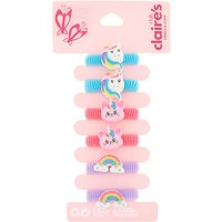 Claire's Club Glitter Hair Bobbles - Pack - Glitter Gifts