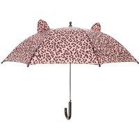 Claire's Pink Leopard Umbrella - Umbrella Gifts