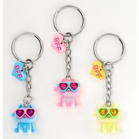 Claire's Cats Wearing Sunglasses Best Friends Keychains - 3 Pack - Sunglasses Gifts