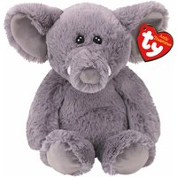 Claire's Ty Beanie Boo Attic Treasure Medium Ella The Elephant Soft Toy - Beanie Gifts