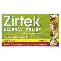 Zirtek Allergy Relief tablets 7 Tabs