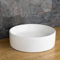 Round Countertop Basin | £39 Value Range | 410mm Diameter Washbasin Sink | Caserta