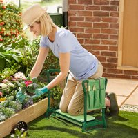 Garden Kneeler With Pouch By Coopers Of Stortford