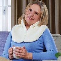 Sherpa Fleece Neck Warmer by Coopers of Stortford