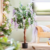 Artificial Potted Wisteria Tree by Coopers of Stortford