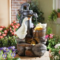 Solar Duck Fountain By Coopers Of Stortford
