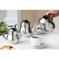 Stainless Steel Dripless Teapot 700ml by Coopers of Stortford