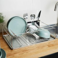 Large Stainless Steel Dish Rack by Coopers of Stortford