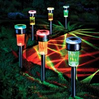 Solar Colour Changing Lights Pk 6