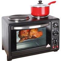 Black 30 Litre Oven
