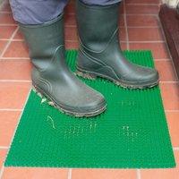 Green Pe Doormat