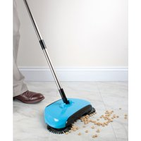Blue Floor Sweeper