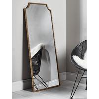 Linden Brass Full Length Mirror