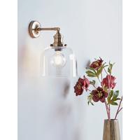 Brass & Glass Wall Light