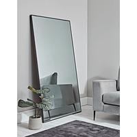 Oversized Antiqued Floor Mirror