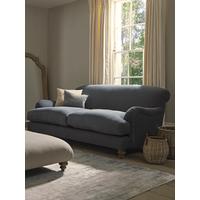 Cosy Three Seater Sofa - Deep Grey Velvet