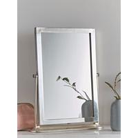 Antique Silver Table Mirror