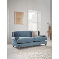 Rex Three Seater Sofa - Mallow Linen Cotton Blend