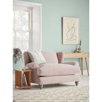 NEW Rex Loveseat - Mallow Linen Cotton Blend