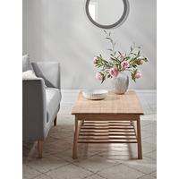 Bergen Oak Coffee Table - Natural
