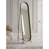 Brushed Gold Full Length Mirror