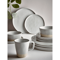 Six Speckled Cereal Bowls - Mineral
