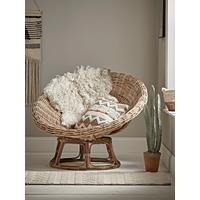 Round Rattan Papasan Chair