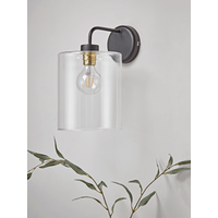 Glass Pendant Wall Light