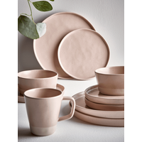 Six Speckled Cereal Bowls - Blush