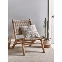 Lounge Chair - Round Rattan