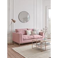 The Deco Sofa Bed - Smoke Linen Cotton Blend