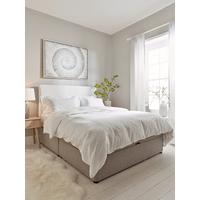 Grey Lina Storage Bed Base - Double