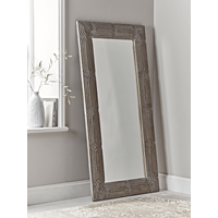 Whitewashed Full Length Mirror