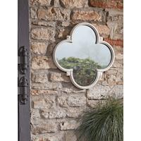 Quatrefoil Outdoor Mirror