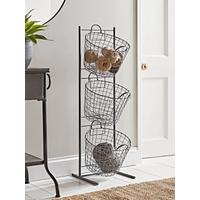 Standing Wire Storage Basket