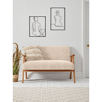 NEW Relaxed Lounge Sofa - Natural Linen