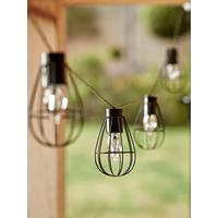 NEW Solar Teardrop Cage Festoon Lights