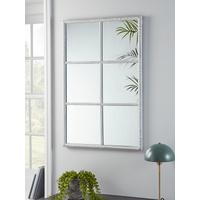 NEW Indoor Outdoor White Window Mirror