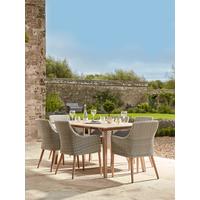 Indoor Outdoor Acacia Dining Table