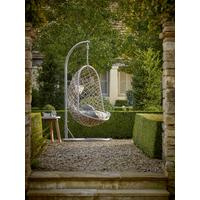 NEW Indoor Outdoor Slim Hanging Chair - Grey
