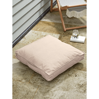 NEW Indoor Outdoor Square Floor Cushion - Soft Blush