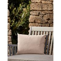NEW Indoor Outdoor Rectangular Cushion - Soft Blush