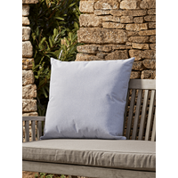 NEW Indoor Outdoor Large Square Cushion - Soft Blue