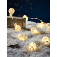 Glass Bauble String lights