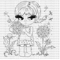Image of Scruffy Little Kitten Digi-Stamp - Belinda