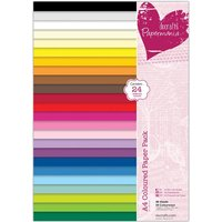 Papermania A4 Coloured Paper Pack  48 sheets