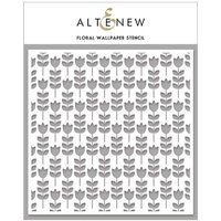 'Altenew 6in X 6in Stencil Floral Wallpaper